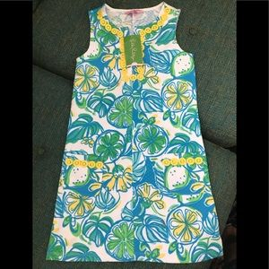 Lilly Pulitzer Girls Shift Size Large 8/10